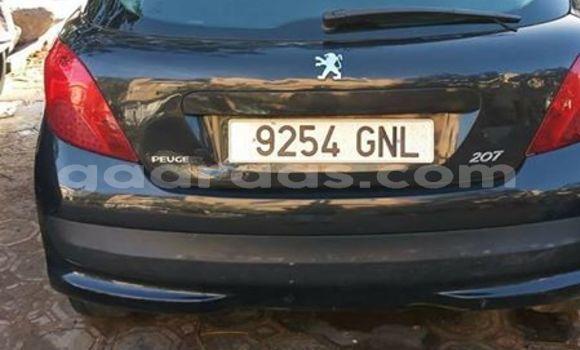 Acheter Occasion Voiture Peugeot 207 Noir à Grand Dakar au Dakar