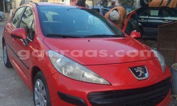 Acheter Occasion Voiture Peugeot 207 Rouge à Grand Dakar au Dakar