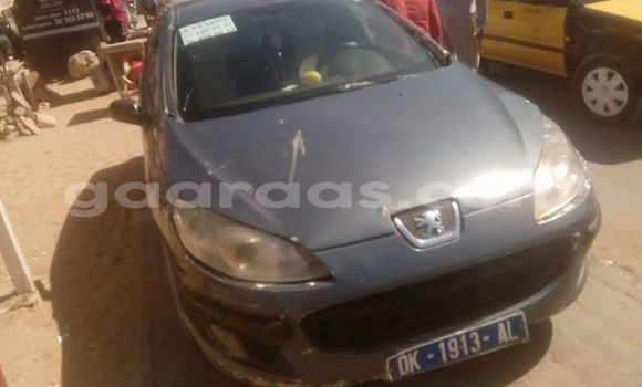 Acheter Occasion Voiture Peugeot 407 Gris à Grand Dakar au Dakar