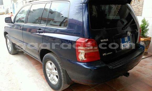 Acheter Occasion Voiture Toyota Highlander Bleu à Grand Dakar au Dakar