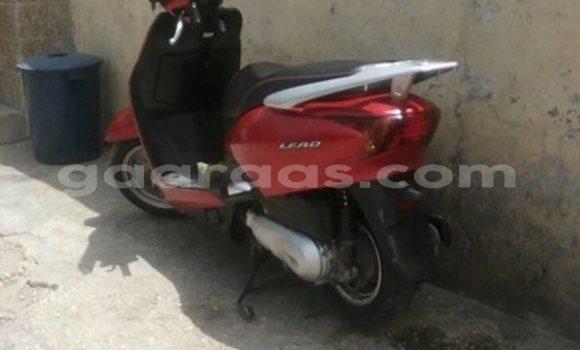 Acheter Occasion Moto Honda Lead Rouge à Gueule Tapee Fass Colobane au Dakar