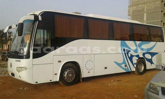 Acheter Occasion Utilitaire Higer KLQ Blanc à Grand Dakar au Dakar