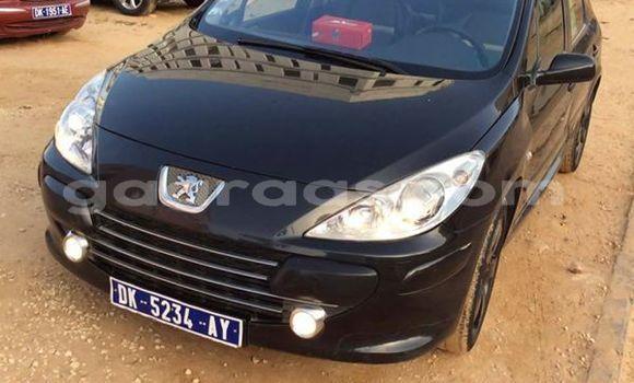 Acheter Occasion Voiture Peugeot 307 Noir à Grand Dakar au Dakar