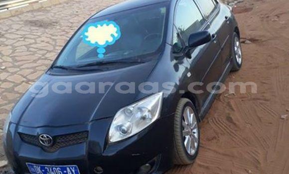 Acheter Occasion Voiture Toyota Auris Noir à Grand Dakar au Dakar