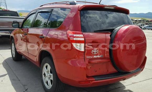 Acheter Occasion Voiture Toyota RAV4 Rouge à Ouakam au Dakar