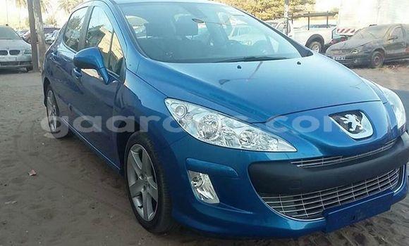 Acheter Occasion Voiture Peugeot 308 Bleu à Grand Dakar au Dakar