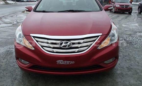 Acheter Occasion Voiture Hyundai Sonata Rouge à Fann Point E Amitie au Dakar