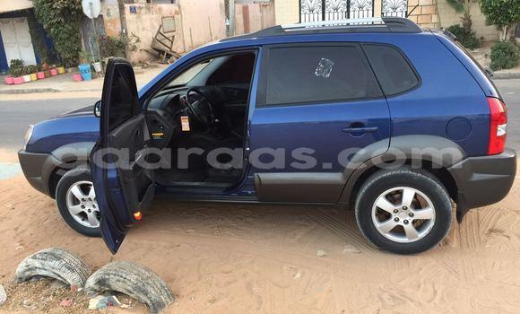 Acheter Occasion Voiture Hyundai Tucson Bleu à Fann Point E Amitie au Dakar