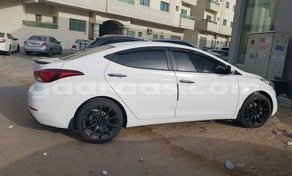 Acheter Occasion Voiture Hyundai Elantra Blanc à Bakel au Louga