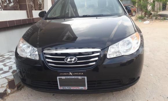 Acheter Occasion Voiture Hyundai Elantra Noir à Hann Bel Air au Dakar