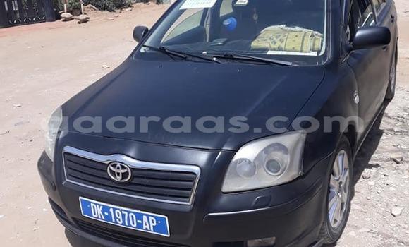 Acheter Occasion Voiture Toyota Avensis Noir à Dakar au Dakar