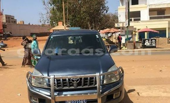 Acheter Occasion Voiture Toyota Land Cruiser Gris à Dakar au Dakar