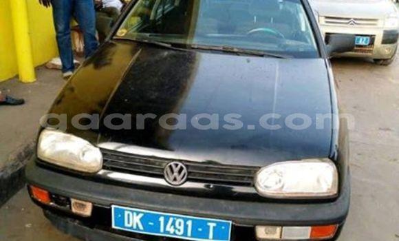 Acheter Occasion Voiture Volkswagen Golf Noir à Bakel, Tambacounda