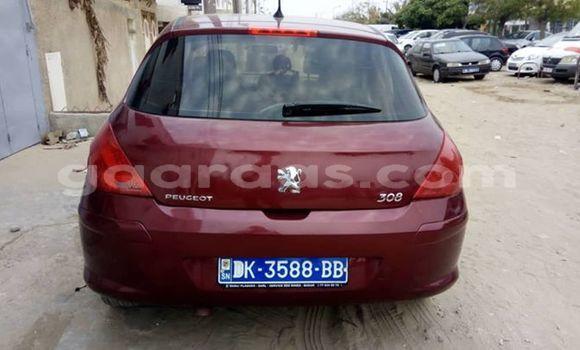 Acheter Occasion Voiture Peugeot 308 Rouge à Bakel au Tambacounda