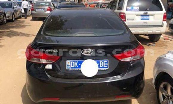 Acheter Occasion Voiture Hyundai Elantra Noir à Bakel au Tambacounda