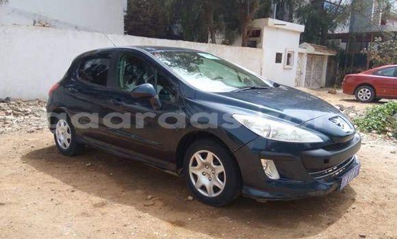 Acheter Occasion Voiture Peugeot 308 Noir à Bakel au Tambacounda