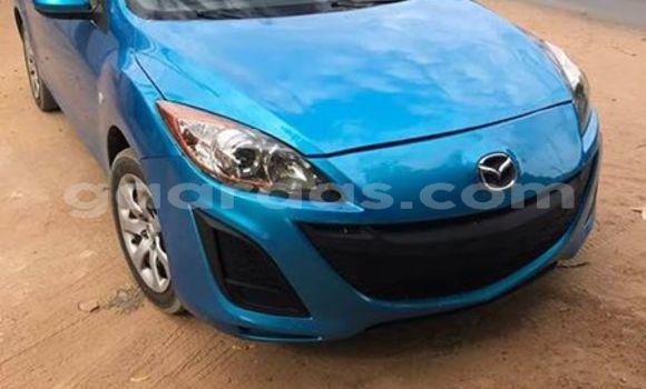 Acheter Occasions Voiture Mazda Mazda 3 Bleu à Dakar au Dakar