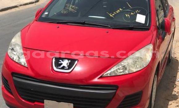 Acheter Occasions Voiture Peugeot 207 Rouge à Dakar au Dakar