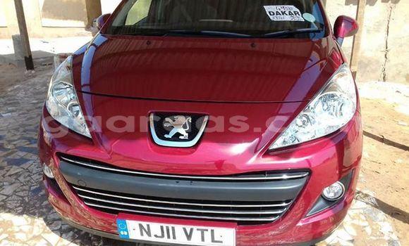 Acheter Occasion Voiture Peugeot 206 Rouge à Dakar au Dakar