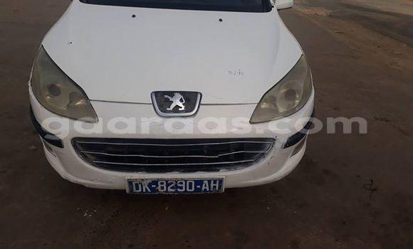 Acheter Occasions Voiture Peugeot 407 Blanc à Dakar au Dakar