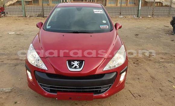Acheter Occasions Voiture Peugeot 308 Rouge à Dakar au Dakar