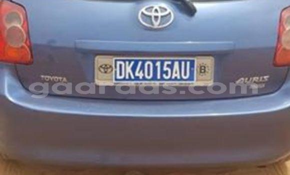 Acheter Occasions Voiture Toyota Auris Bleu à Dakar au Dakar
