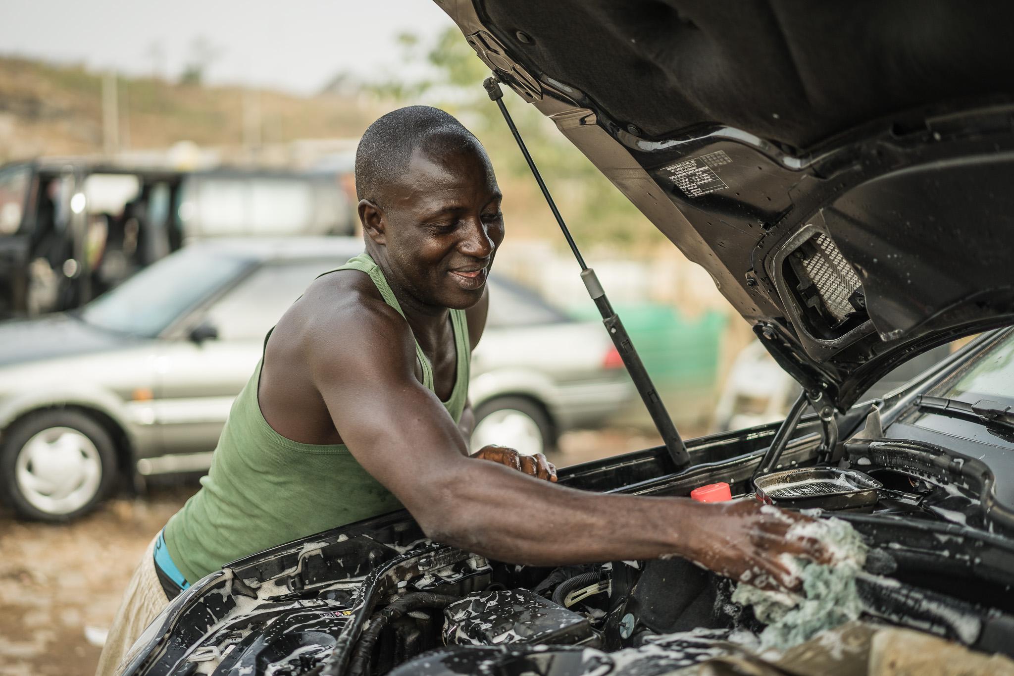 Abuja car wash